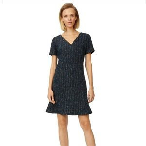 Navy Tweed Dress | Club Monaco
